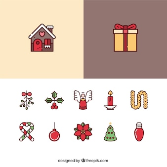 cute christmas lebkuchen vektoren fotos und psd dateien. Black Bedroom Furniture Sets. Home Design Ideas