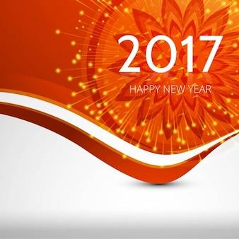 Neue Jahr 2017 Hintergrund