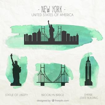 New york Denkmäler