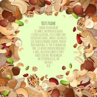 Nuts-Rahmen-Design