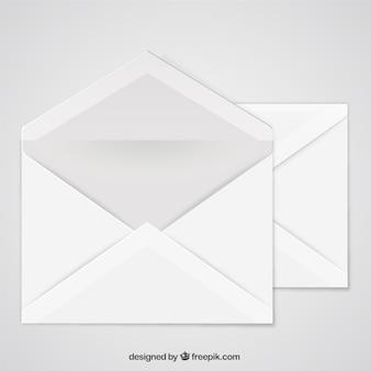 Öffnen Sie Umschlag