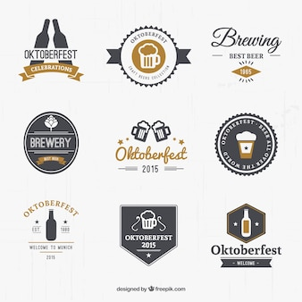 Oktoberfest Logo-Set