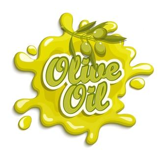 Olivenöl Etikett.