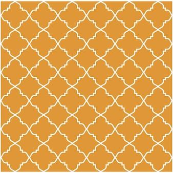 Orange islamisches Arabisches Muster