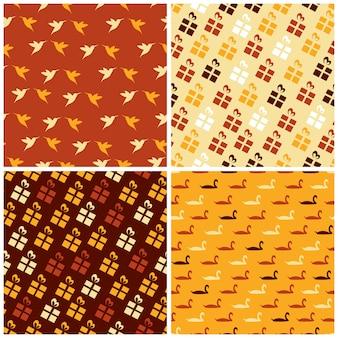 Orange Muster Hintergrund