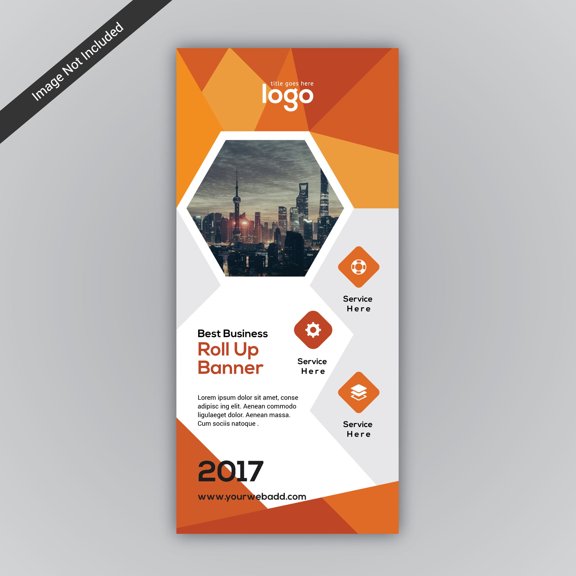Orange Roll-up-Design