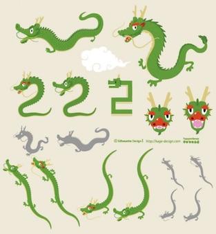 Orientalischen Drachen 2