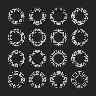 Ornament Rahmen Sammlung
