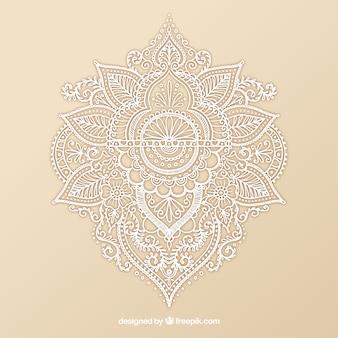 Ornamental Henna-Design