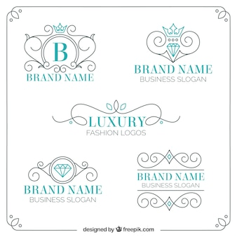 Ornamental Luxus-Logos