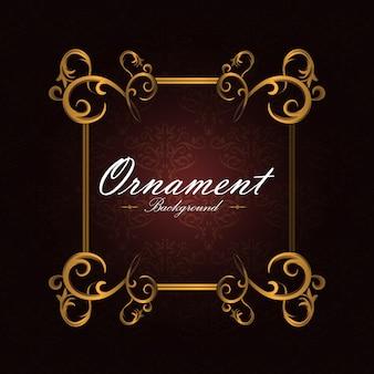 Ornamentalen Hintergrund Design