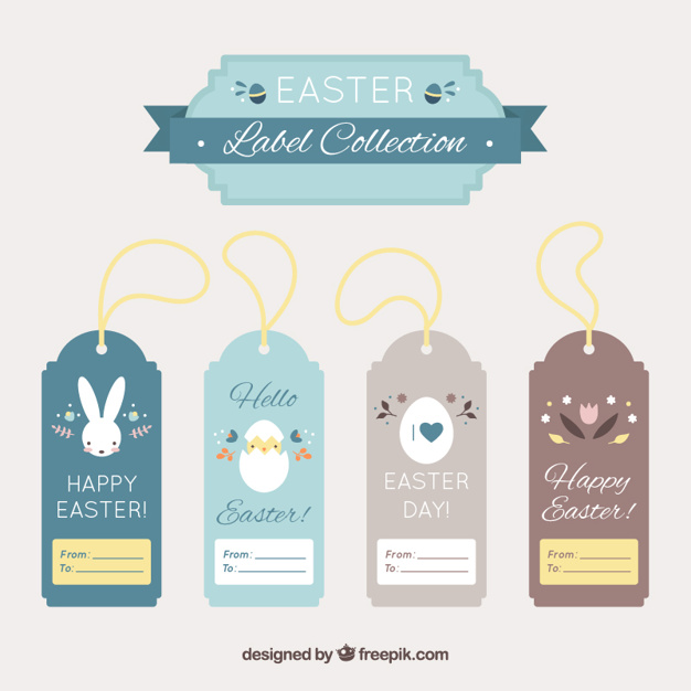 Ostern Tags collection