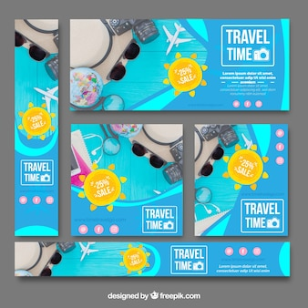 Pack Sommer Reise Banner