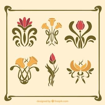 Simple art nouveau designs simple art deco patterns art nouveau - Jugendstil Vektoren Fotos Und Psd Dateien Kostenloser