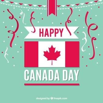 Party Hintergrund für Kanada Tag