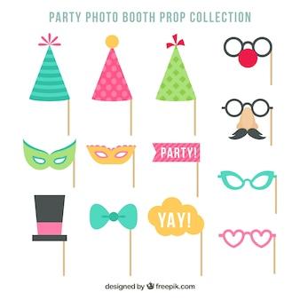 Partyzubehör für Fotos