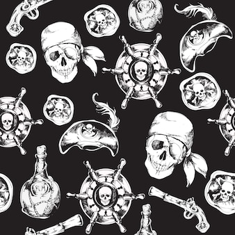 Piraten-Muster