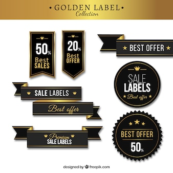 Premium-stilvolle Sticker-Pack