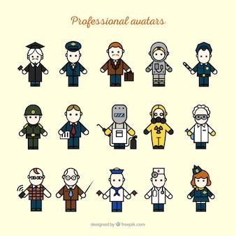 Professionelle avataras