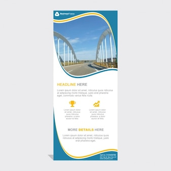 Professionelle Roll Up Banner