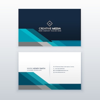 Professionelle Visitenkarte Design-Vorlage