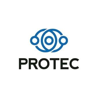 Protec Symbol Logo