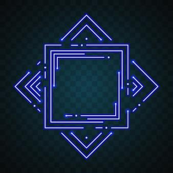 Quadrate Design mit Lichter