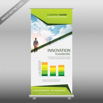 """Green Business Report Roll Up Vorlage"""