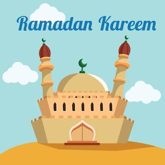 Ramadan Hintergrund-Design