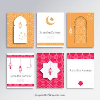 Ramadan Kareem Broschüren