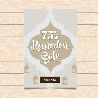 Ramadan Verkauf Flyer