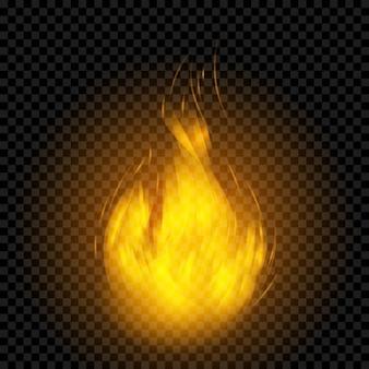 Realistische Flammeneffekt