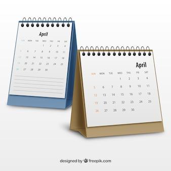 Realistische Kalender