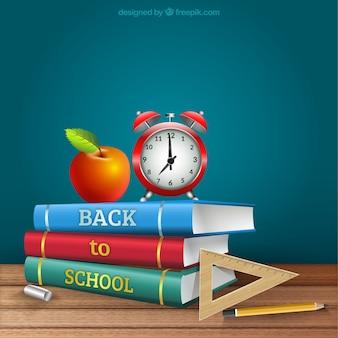 Realistische zurück in die Schule Bücher