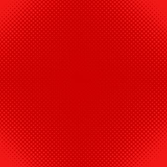 Red Halftone Dot Muster Hintergrund - Vektor-Design von Kreisen in verschiedenen Größen