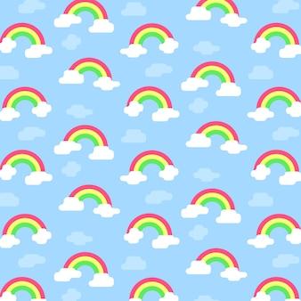 Regenbogen-Muster
