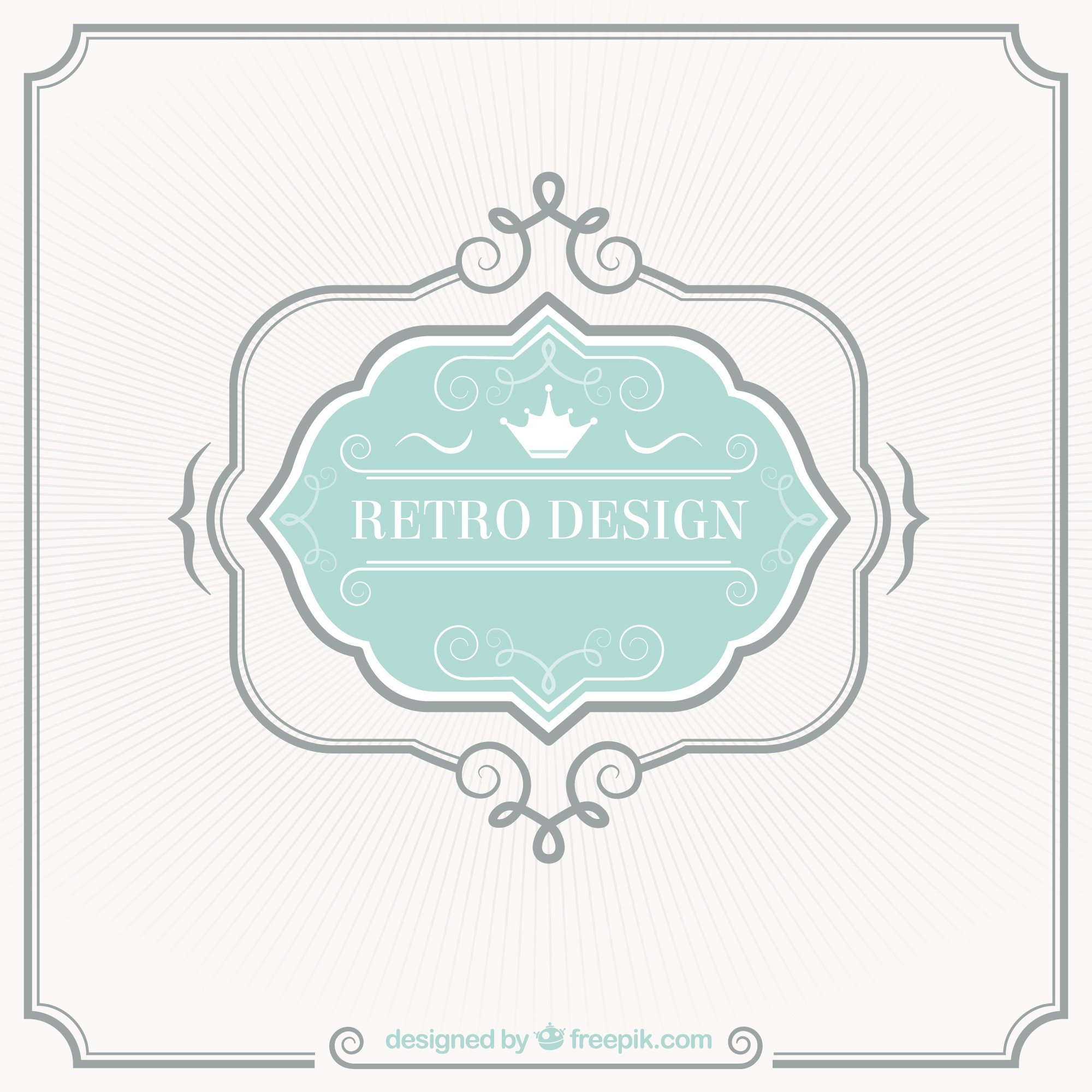Retro-Label-Design