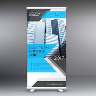 Roll-up Banner Template Standlayout