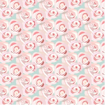 Rosa Rosen Muster Hintergrund