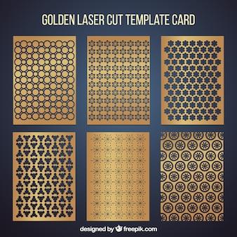 Sammlung von Einladungen mit Laserschnitt