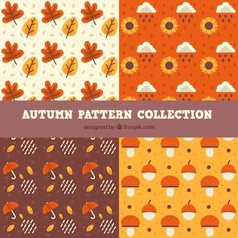 Sammlung von Mustern, Herbst