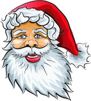 Santa claus Kopf