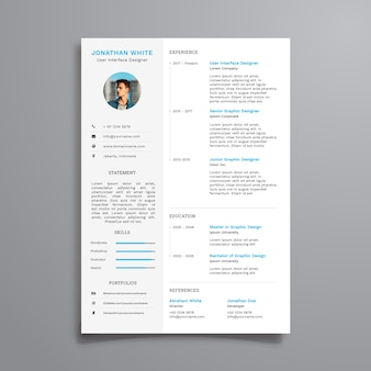 Sauberer Corporate Resume