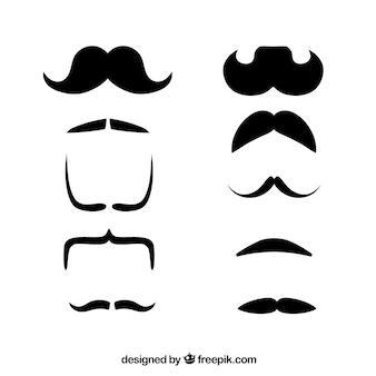 Schnurrbart-Design-Kollektion