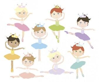 Schöne Ballerinas