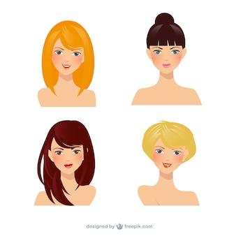 Schöne Frauen