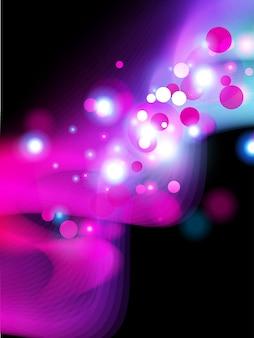 Schöne glänzende rosa Farbe Vektor Hintergrund