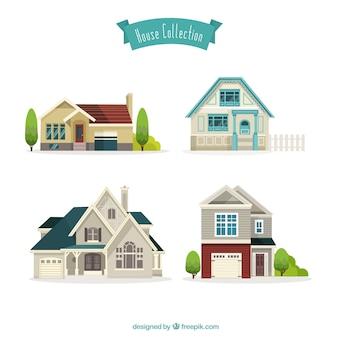 Schöne Häuser Sammlung