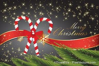 Schöne Weihnachten Grusskarte