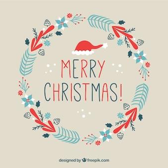 Schöne Weihnachten Kranz